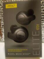 Jabra Elite 65t True Wireless Earbuds with Charging Case, Titanium Black