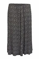 Viscose Calf Length Skirts Plus Size for Women