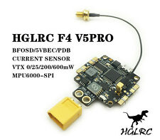 Hot sale HGLRC F4 V5PRO BETAFLIGHT OSD BEC Flight Controller for Quadrocopters