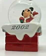MICKEY MOUSE Disney Mini Snow Globes-SET OF 2 - JC Penney 2002 & 2006  [13]