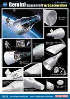 DRAGON 11013 1/72 SCALE MODEL KIT GEMINI SPACECRAFT W/SPACEWALKER
