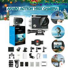 AKASO V50X 4K/30fps Action Camera Cam WiFi Eis Touch Screen IR Remote Waterproof