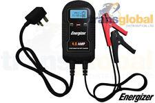 12 V - 4 Amp 9 paso Inteligente Coche Cargador de batería LCD Pantalla Digital-Energizer