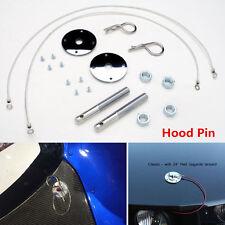 Universal Car Plus Flush Hood Latch Pin Kit Auto Engine Lock Bonnet Locking Hood