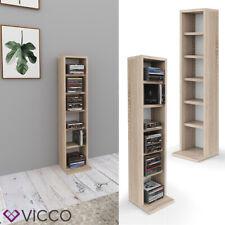 Scaffale per CD VICCO porta DVD scaffale a parete pensile libreria scaffale da