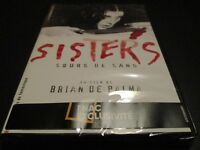 "COLLECTOR 2 DVD NEUF ""SISTERS"" Margot KIDDER / film d'horreur de Brian DE PALMA"