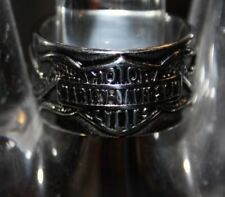 HARLEY DAVIDSON MOTORCYCLE STAINLESS STEEL RING Size 12