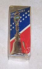 "Vintage Metal Hand Bell Nib Souvenir Libery Bell Wibc Collectors Brass 3 3/4"""