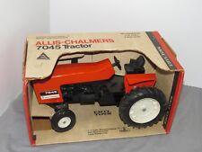 Vintage Allis Chalmers 7045 Tractor NIB Ertl Scale 1/16 Diecast Black Belly