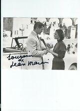 Autographe original de Jean MARAIS sur photo de film