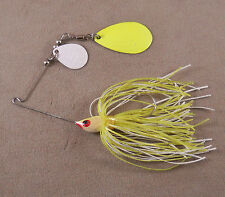 Bass Fishing Lure DR Custom Spinnerbait, 1/4 oz. 1 Colorado & 1 Indiana Blade