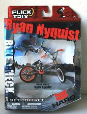New Flick Trix 2010 Ryan Nyquist Haro Bikes Fingerbike (Gray/ Orange) #C10