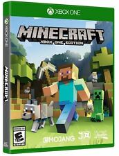 Minecraft Xbox One Edition  - BRAND NEW! FACTORY SEALED!