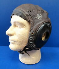 USAAF EXTRA LARGE TYPE A-11 LEATHER FLYING HELMET