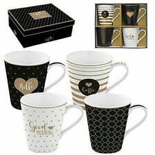 Easy Life - R0128CMGM - Coffeemania, Set di quattro tazze mug .