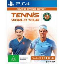 Tennis World Tour Roland Garros Edition PS4 Playstation 4 Brand New
