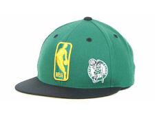 BOSTON CELTICS MITCHELL & NESS VINTAGE NBA LOGO MAN FITTED SIZE 7 3/8 CAP/HAT
