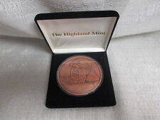 Mark Mcgwire St Louis Cardinals Highland Mint 1/2 Troy Pound Solid Copper Coin
