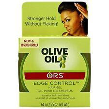 ORS Organic Root Stimulator Olive Oil Edge Control Hair Gel 2.25 Oz