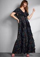 BNWT Studio 8 Phase Eight Audrina Floral Maxi Dress UK 16 RRP £150