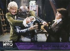 Doctor Who Timeless Purple Parallel [##/50] Base Card #17 The Time Warrior