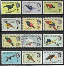 BRITISH HONDURAS. 1962 BIRDS SET (12) MNH.  SG.202 - 213.  (1075)