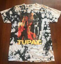 Tupac T Shirt Tie Dye Black & White Men's Small/Medium Rap Hip Hop 2Pac