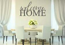 WELCOME HOME Rustic Farmhouse Home Wall Decal Words Decor