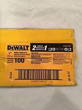 Dewalt #DW2002DEBL Double Ended Bit #2 Phillips Driver Bits NEW 100 Pieces