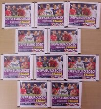 Road To Euro 2020 ~ Panini Sticker Collection ~ 10 x Sealed Packs = 50 Stickers