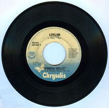Philippines SPANDAU BALLET Lifeline 45 rpm Record