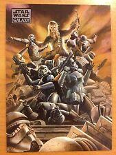 Topps 2012 Star Wars Galaxy Series 7 #80 Wookiee Rage (Chewbacca) MINT