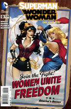 SUPERMAN WONDER WOMAN #9 Variant Bombshell New 52 Pin Up  DC 1st Print NM to NM+