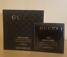 3x Gucci Lustrous Glow Foundation SHADE # 060 Orginal Gucci Sealed SAMPLE 0.8ml