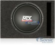 "MTX TN12-02 12"" 400W Car Audio Bass Subwoofers + Belva 12"" Vented Box Enclosure"