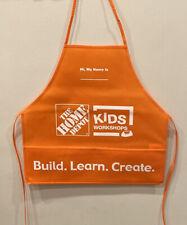 Home Depot Kids Workshops Apron