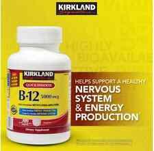 Kirkland Signature  Sublingual B-12 5000 mcg., 300 Tablets QUICK DESOLVE B12