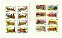 Train Stamps - DHUFAR & NAGALAND,SHEETS & IMPERF SHEET. SEE PICTURES