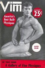 Vim Vol.2 No.6 August 1955, Vintage Male Beefcake Magazine