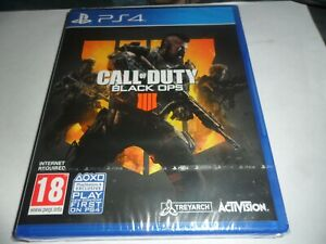 PS4 GAME  CALL OF DUTY BLACK OPS 4   NEW/SEALED