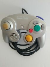 Authentic Gamecube Nintendo Official Controller DOL-003 Platinum Silver Tested