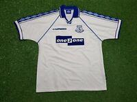 FC Everton Maglia XL 1998 1999 Umbro Calcio Maglietta Jersey Uno 2 Uno