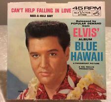 Elvis 47-7968 Can't Help Falling In Love / Rock A Hula Baby 45 Sleeve