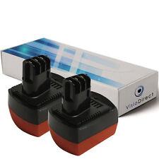 Lot de 2 batteries 12V 3000mAh pour Metabo BSZ12m Impuls - Société Française -