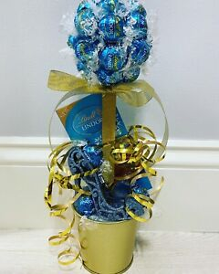 Lindt Lindor Salted caramel chocolate sweet tree With Glitter Shoe! Great Gift!!