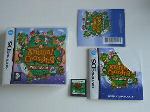 ANIMAL CROSSING wild world * NINTENDO GAME DS / DS LITE / DSi ' 100% GENUINE '