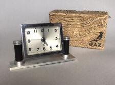Art Deco JAZ French Alarm / Desk Clock in Original Box
