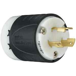 Legrand 20-Amp Turnlok Industrial Locking Plug - L520PCCV3 - NEMA L5-20P - NEW