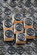 Jugendstil Wäschestempel Monogramm Wäscheschablone Textil Stempel Stoffdruck