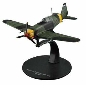 Avion Morane Saulnier MS.406 France - 1/72 WW2 militaire DeAgostini G61